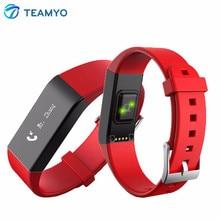 Teamyo Vidonn A6 Спорт Bluetooth 4.0 смарт-браслет монитор сердечного ритма трекер сна Шагомер Смарт-браслет для iOS и Android