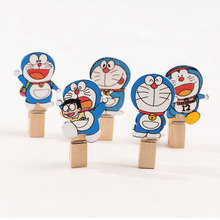 цены 10 pcs/pack Creative cat Wooden Clip Photo Craft DIY Clips with Hemp Rope  Clothespin Craft Decoration Clips Pegs
