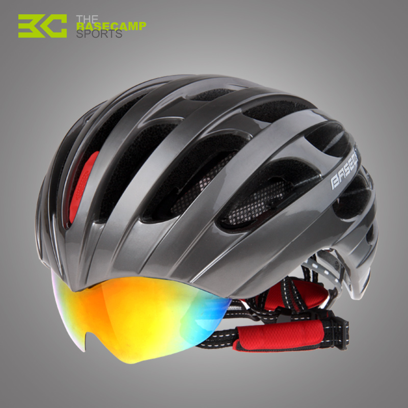 BASECAMP Unisex Cycling Helmet EPS Ultralight MTB Mountain Bike Helmet Comfort Safety Helmet Free Size bicycle accessories BC010 men women cycling helmet eps ultralight mtb mountain bike helmet riding safety bicycle helmet