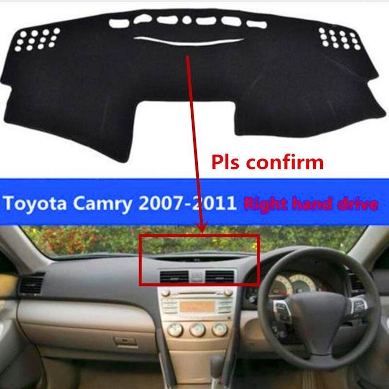 TAIJS Car Dashboard Mat Pad For Toyota Camry 2007 2011