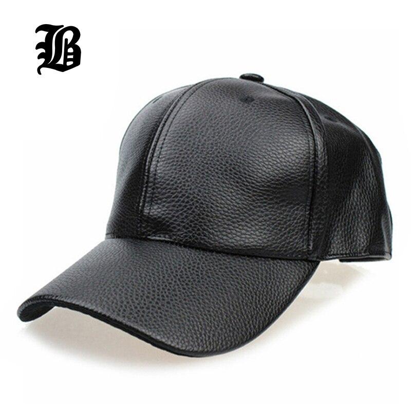 Prix pour [FLB] 2017 NOUVEAU Noir PU En Cuir Casquette de baseball Hip Hop caps gorras Snapback Chapeau casquettes Pour Hommes femmes en gros