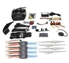 F14893-M DIY RC Drone Quadrocopter Full Set X4M380L Frame Kit APM 2.8 GPS AT9 TX