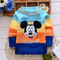 Здравствуйте kt! осень/зимней младенца свитер девочки мальчиков мальчики девочек одежды цветов
