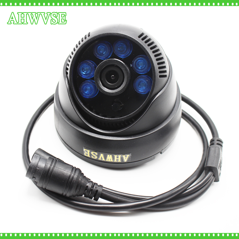 AHWVSE HD 1920*1080P 2MP IR Dome IP Camera Indoor Security IP Cam DC 12V