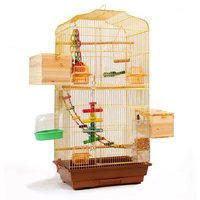 Large 93cm Bird House Steel Wire Birdcage Large Bird Cages for Parrots Chastity Cage Steel Hanging Shells Bird Tent Nest Hoose