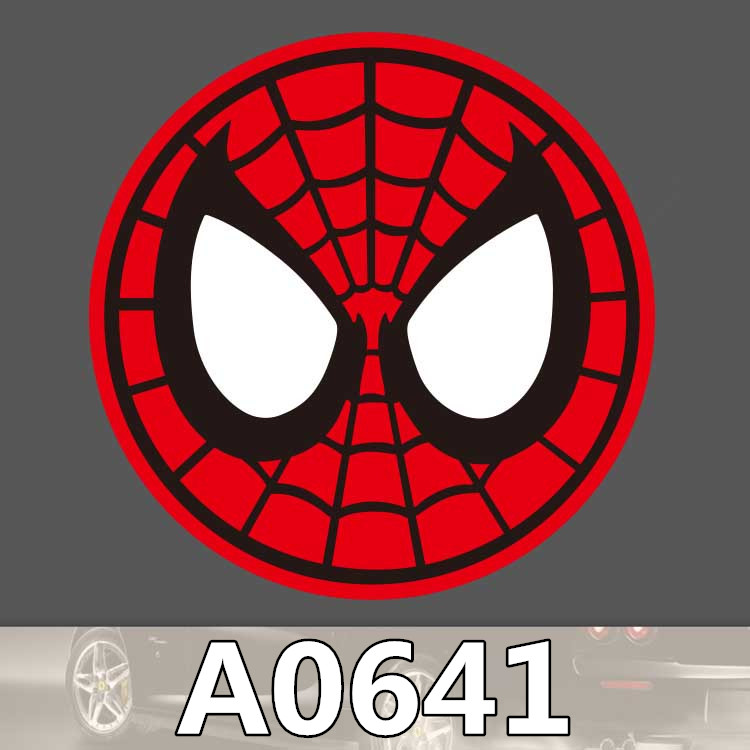 A0641 Spider Man Mark Suitcase Waterproof Sticker Single Sale Cool Laptop Luggage Fridge Skateboard Graffiti Notebook