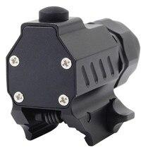 LED Strobe Gun Flashlight for Pistol with Quick Release Weaver Mount