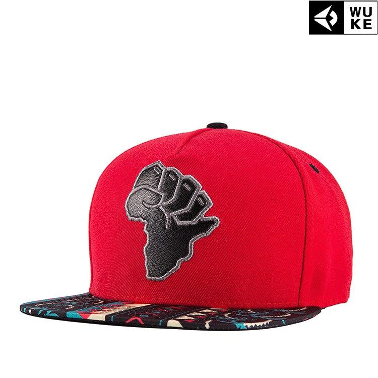 Prix pour 2016 vente chaude Hommes Femmes Nouvelle Arrivée Unisexe Snapback Baseball Cap Hip Hop chapeau Frais Floral frais et beau Africain carte