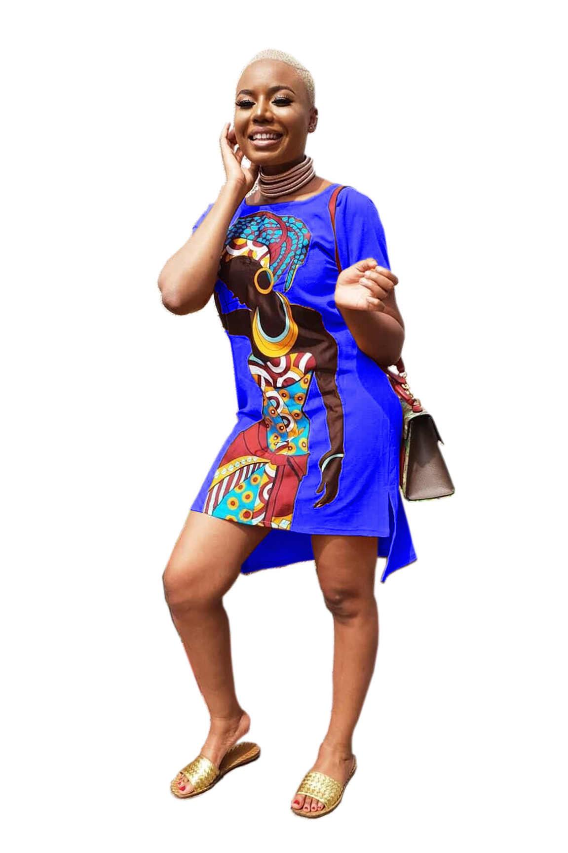 فستان نسائي أفريقي كلاسيكي بطراز جديد ، فستان طويل مطبوع على الموضة من Dashiki