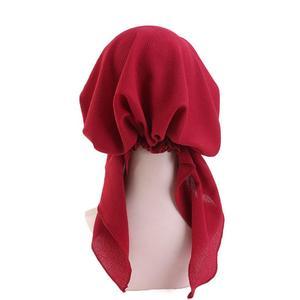 Image 5 - Müslüman tam kapak iç başörtüsü kap islam şapkalar şapka Underscarf bandaj güzel dantel Up türban kadınlar için başörtüsü moda