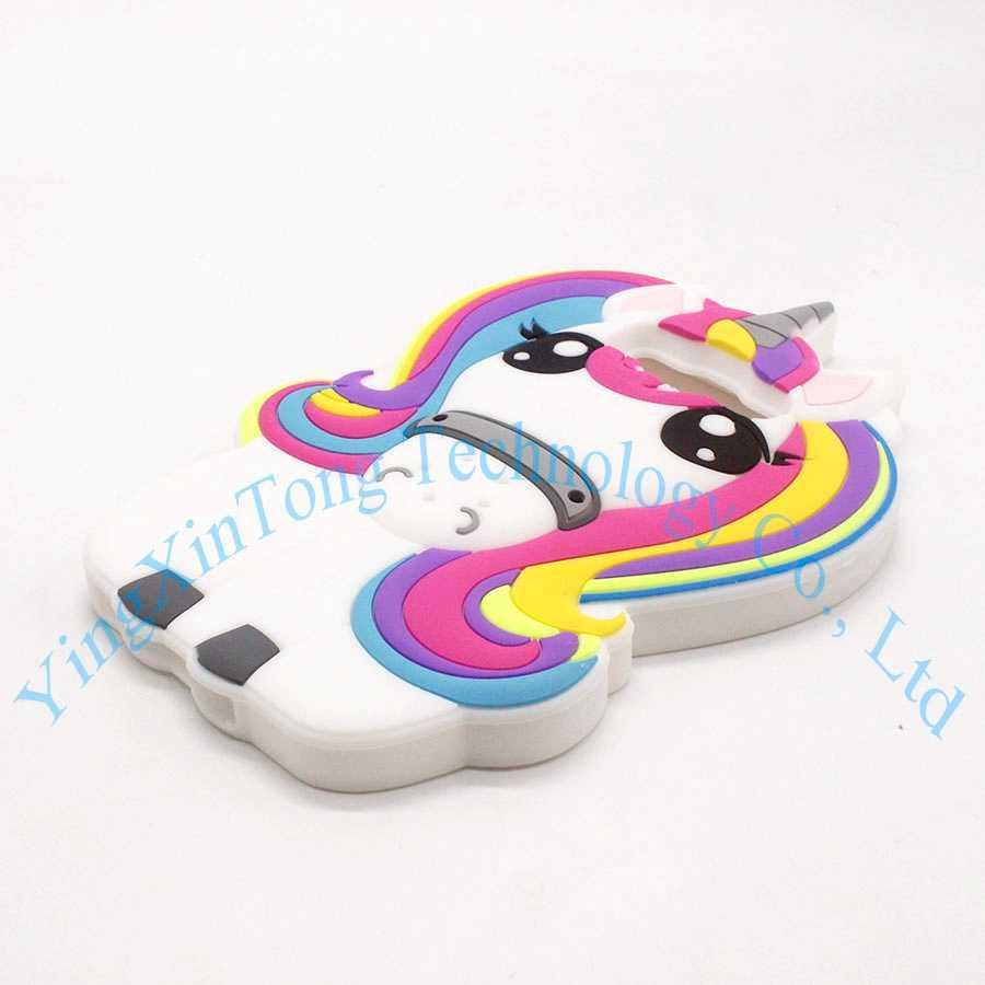 3D стильная футболка с изображением персонажей видеоигр пони, Единорог Мягкий силиконовый резиновый чехол для samsung Galaxy 2015 2016 J1 J120 & J3 J310 & J5 J510 & J7 J710