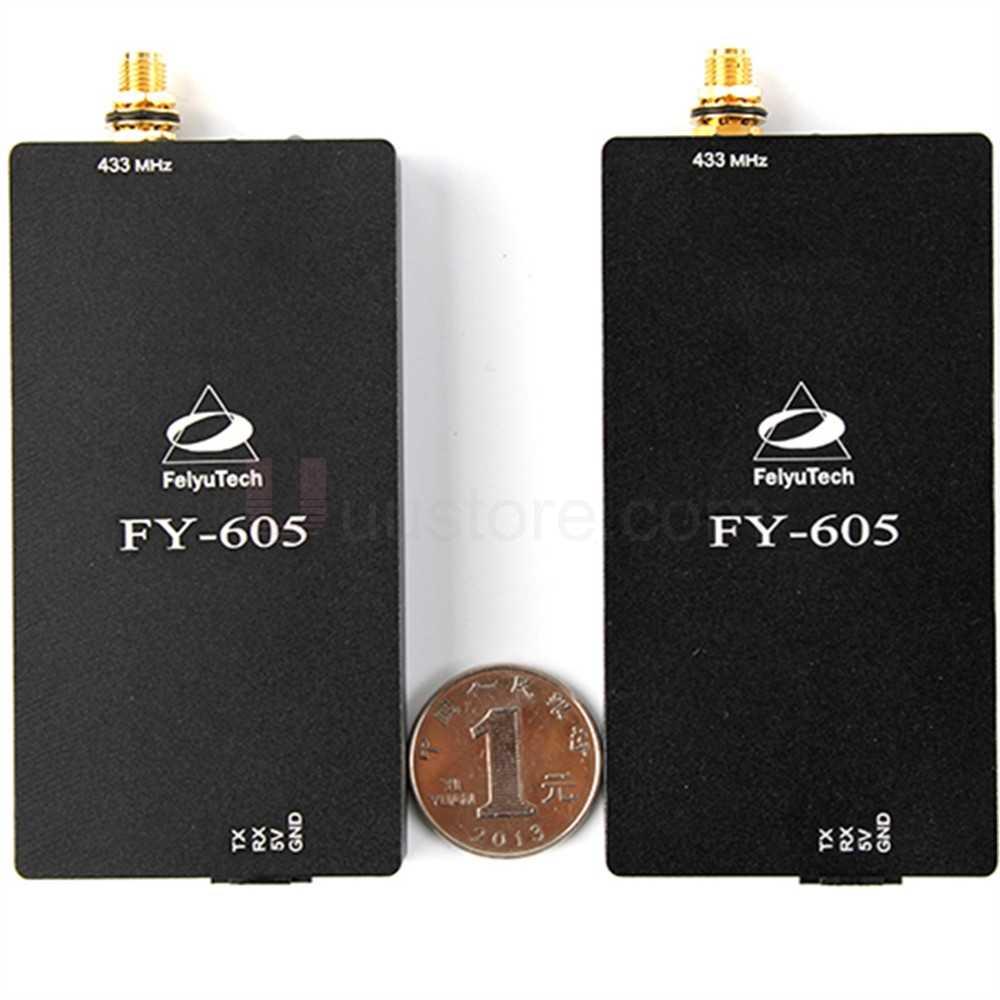長距離 15 キロ Feiyu テック FY-605 データラジオデータリンク伝送ソリューションのための Uav リモコン