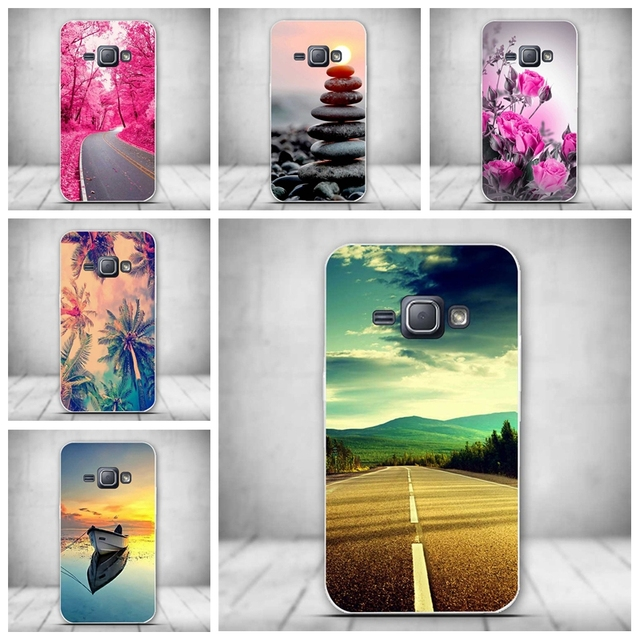 Силиконовый чехол для Samsung Galaxy J1 (6) J120 J120F J1 2016 SM-J120F с ТПУ Мягкая задняя крышка для Samsung Galaxy J1 (2016) J120F