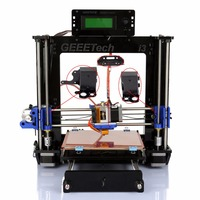 (Ship from germany) Geeetech Creator Desktop MK8 Extruder 3D Printer Prusa Mendel Steel Frame DIY Kit