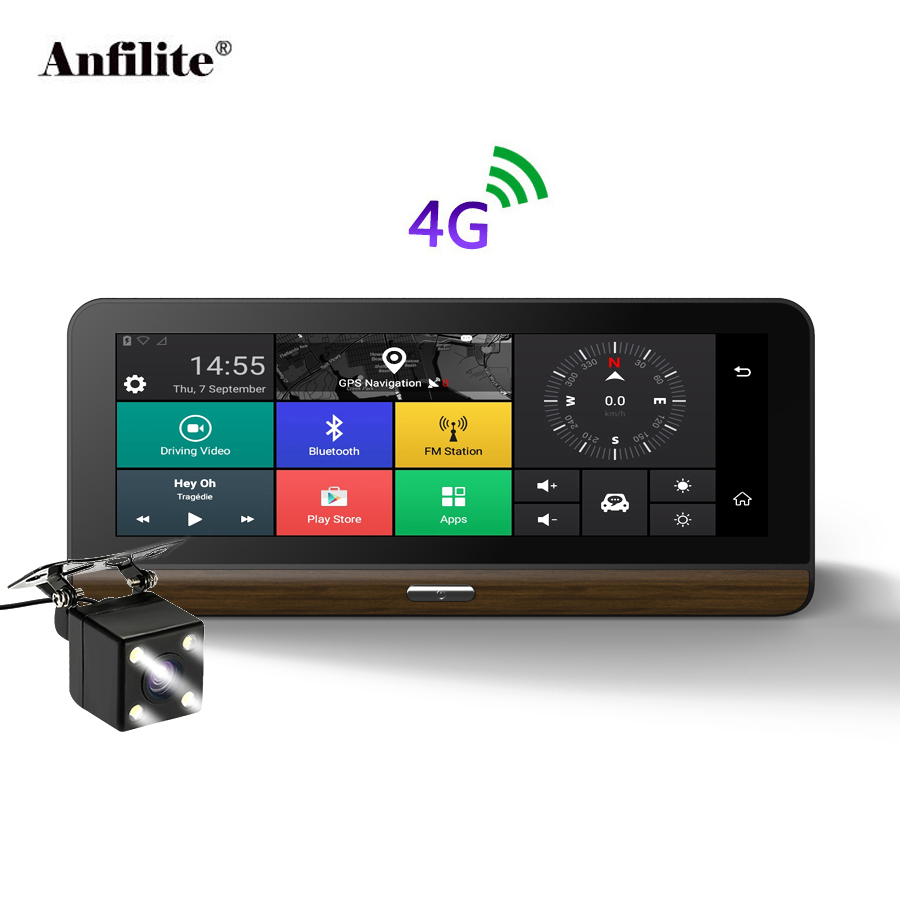 Anfilite E31 Pro 4G Car Camera GPS 7 8 Android 5 1 Car DVRs GPS navigation