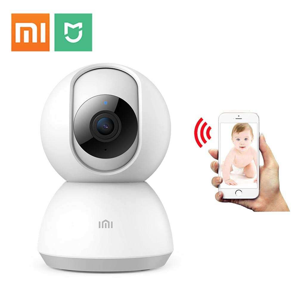 PTZ H.265 HD 1080 p inalámbrico de seguridad XIao mi cámara IP de dos vías de Audio Monitor de bebé HD mi ni wi-Fi inteligente mi cámara Wifi ipcam