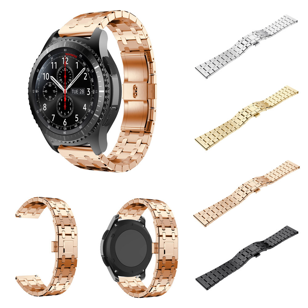 Genuine Stainless Steel Watch Bracelet Band Strap For Samsung Gear S3 Frontier Watch Accessory Bangle Watch Band J .31 смарт часы samsung gear s2 black