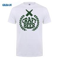 GILDAN Metal T Shirts Hops Beer Craft Beer Bottles Logo Microbrew Home Brew IPA Pale Ale