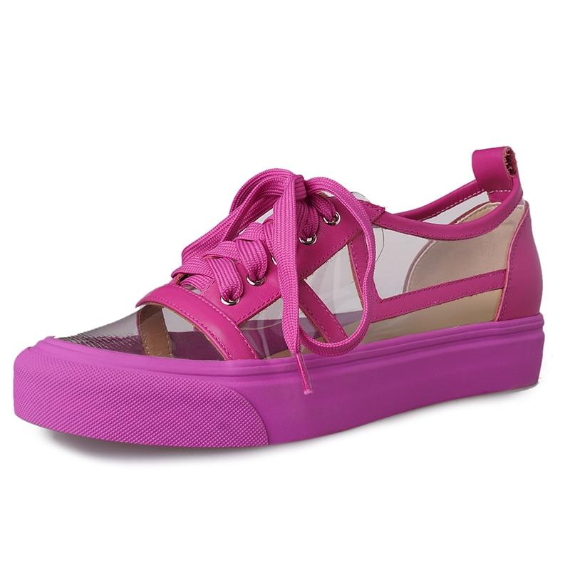 DoraTasia 2019 nueva primavera de cuero genuino de vaca pisos casuales para damas de Color mezclado Causul zapatos para zapatos de los estudiantes mujer-in Zapatos planos de mujer from zapatos    3
