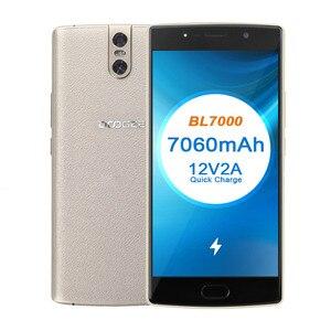 Image 5 - DOOGEE BL7000 7060mAh 12V2A szybkie ładowanie 5.5 FHD MTK6750T octa core 4GB 64GB Smartphone podwójny aparat Android 7.0 telefon komórkowy