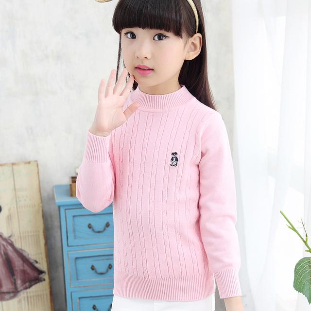 2016 Niños Suéteres de Moda Otoño E Invierno de Los Niños Chaquetas Chicas Suéter Del Algodón Del Bebé ropa de Abrigo Niños Boys Que Arropa el Suéter