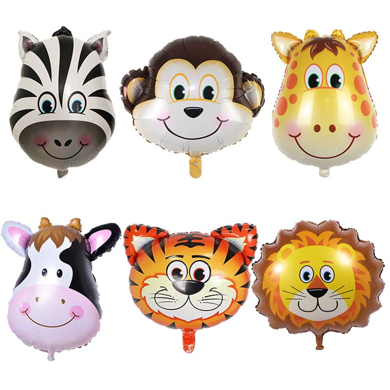 10 Pièces Tropical Mini Flamant Feuille Ballons Enfants Fête