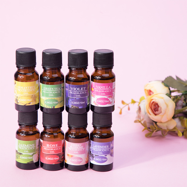 10ml Essential Oils Oil For Aromatherapy Diffusers Pure Essential Oils Organic Body Relax Skin Care Help Sleep