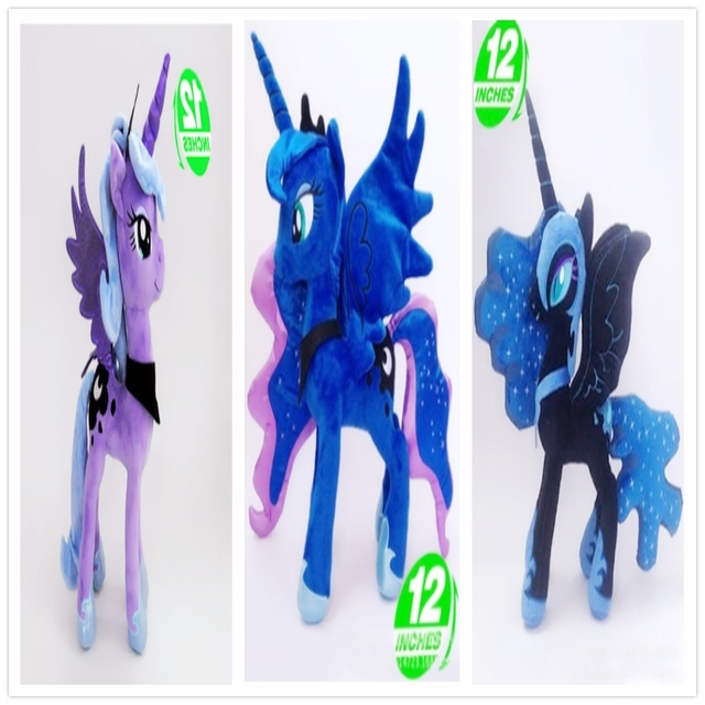 35cm 300g my lovely ty boos little gift plush doll toys Nightmare moon Princess  luna 6ae115c73dd