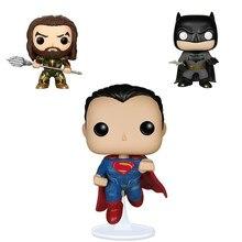 e677dd085a33 Justice Alliance FUNKO поп DC Супермен Аквамен Бэтмен Доминант море кошмар  модель куклы игрушечные лошадки фигурки