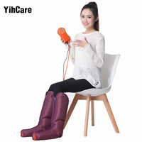 YihCare Pneumatic Leg Massager Leg Wraps Home Foot Massage Electric Air Compression Air Pressure Wave Physical Therapy Machine