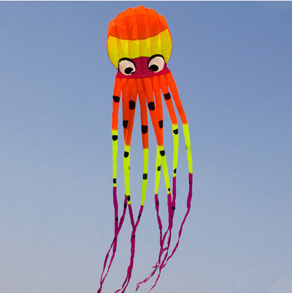 Outdoor Fun Sports High Quality 8m Power Kite Software Octopus kites Good Flying