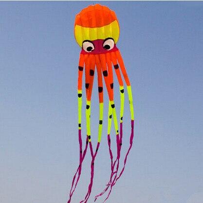 Zabawy na świeżym powietrzu sport wysokiej jakości 8 m moc latawiec oprogramowania ośmiornice latawce dobre latanie w Latawce i akcesoria od Zabawki i hobby na  Grupa 1