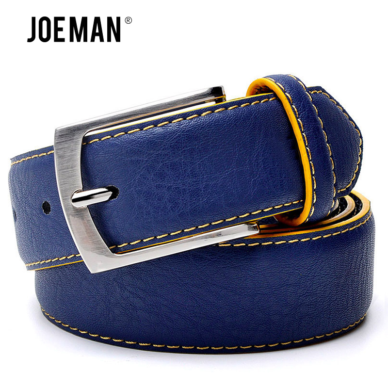 Men's Belt Factory Direct Belt Wholsale Price New Fashion Designer Belt High Quality Genuine Leather Belts For Men Blue Black