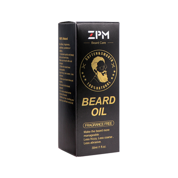 ZPM Natural Beard Growth Essential Oil Gentle Nourishing Care Moustache Oil Easy Smoothing Nutrition Moustache 30ml 1