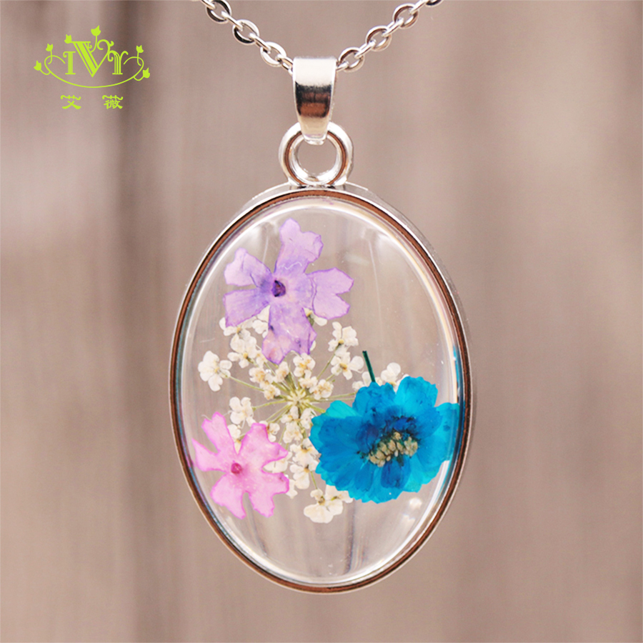 locket necklace dry flowers pendant which opens natural lichen moss immortals flowers modern nature etsy costume jewelry for women