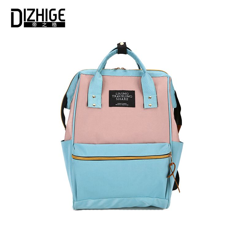 Brand Women Backpack Multifunction Korean Style Shoulder Bag Laptop ... 524affaf9ca83