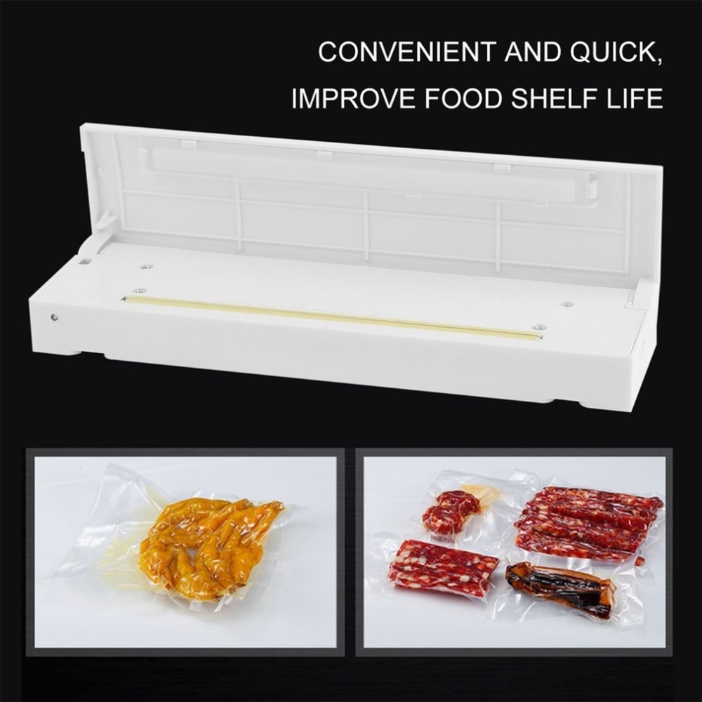 Automatic Electric Home Portable Seal Vacuum Food Bag Sealer For Peanut Packaging Machine Kitchen Accessory Tools