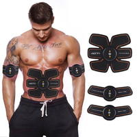 Smart ABS Stimulator handsel Sport Watch Bracelet Muscle Training Gear Belt Exercise Pad Fitness Gym Abs Arm Sports Stickers