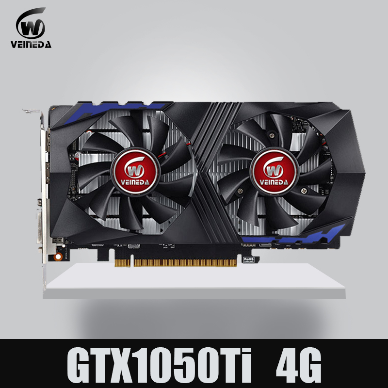 VEINEDA Video Card for Computer Graphic Card PCI-E GTX1050Ti GPU 4G DDR5 for nVIDIA Geforce Game VEINEDA Video Card for Computer Graphic Card PCI-E GTX1050Ti GPU 4G DDR5 for nVIDIA Geforce Game