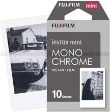 Fujifilm Fuji Instax Mini 9 Film monochromatyczny dla Mini 8 9 7s 7c 70 90 25 Polaroid 300 udziału SP 1 2 Liplay Polaroid aparat natychmiastowy