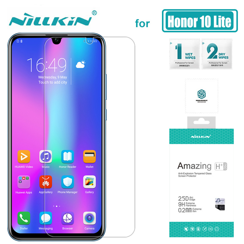 Huawei Honor 10 Lite Glass Nillkin 9H+ Pro 2.5D Tempered Glass Screen P