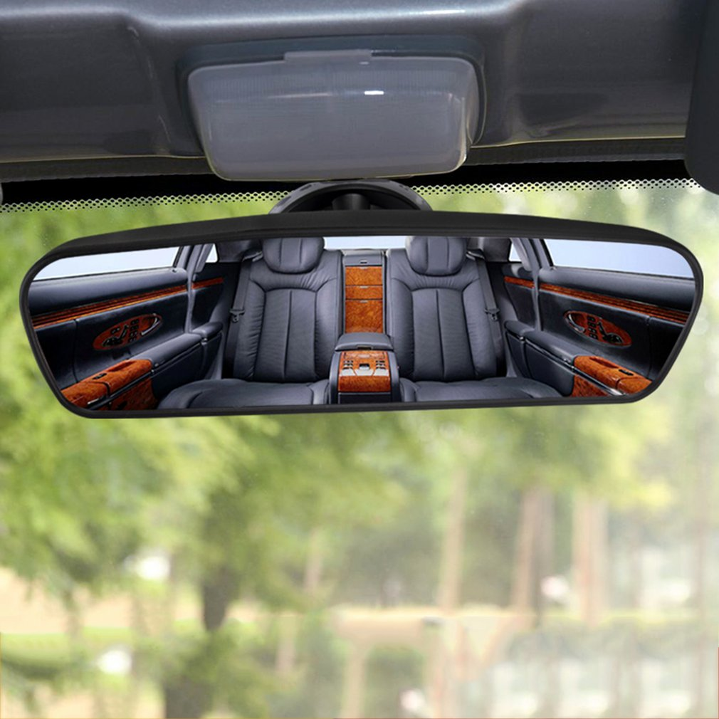 Panoramic Rear View Mirror Universal Wide Angle Rear View Mirror with Suction Installation Car Interior Mirrors Rearview Mirror car clip on rear view mirror convex mirror driving safety universal wide angle rear view mirror auto car interior mirrors