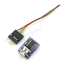 Cheaper Crius FTDI  FT232RL Basic Breakout Arduino USB-TTL 6 PIN 3.3 5V with FTDI Cable 2.54 Dupont 6P/1.25 4P