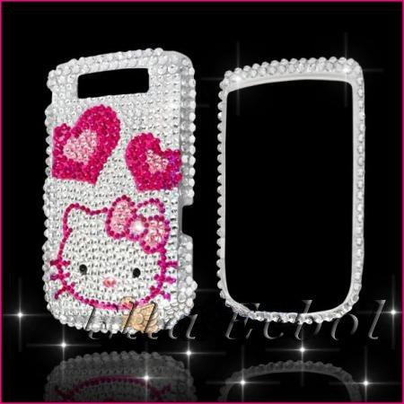 Free Shipping 100% Brand New Fashion Bling Diamond Hard Cover Case for Blackberry Torch 9800