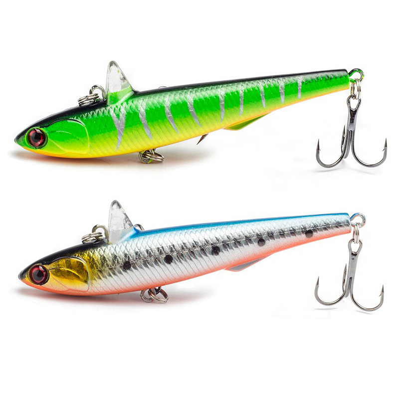 Winter Fishing Hard Bait VIB 9cm 14.5g With Lead Inside Ice Sea Fishing Tackle Diving Swivel Jig Wobbler Lure Lifelike Bait brand new 1pcs winter fishing lures hard bait vib with lead inside lead fish ice sea fishing tackle swivel jig wobbler lure best