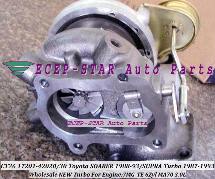 CT26 17201-42020 17201-42030 17201 42020 Turbocharger For TOYOTA - Pjesë këmbimi për automjete - Foto 3