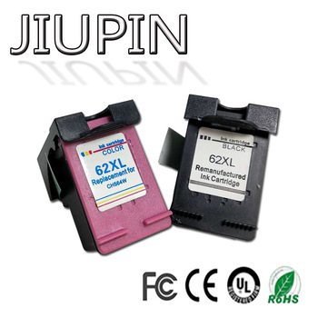 JIUPIN 2PK Compatible for 62XL Ink Cartridge for hp62 62 5640 5660 7640 5540 5544 5545 5546 5548 Officejet 5740 5741 5742 5743 5 2pk remanufactured for hp 62xl ink cartridge for hp62 inkjet cartridge used for hp envy 5640 5642 5643 5644 5646 5660 764