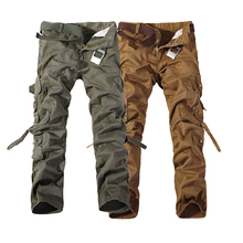 Mens Cargo Pants Military Fight Style Tactical Combat Multi Pocket