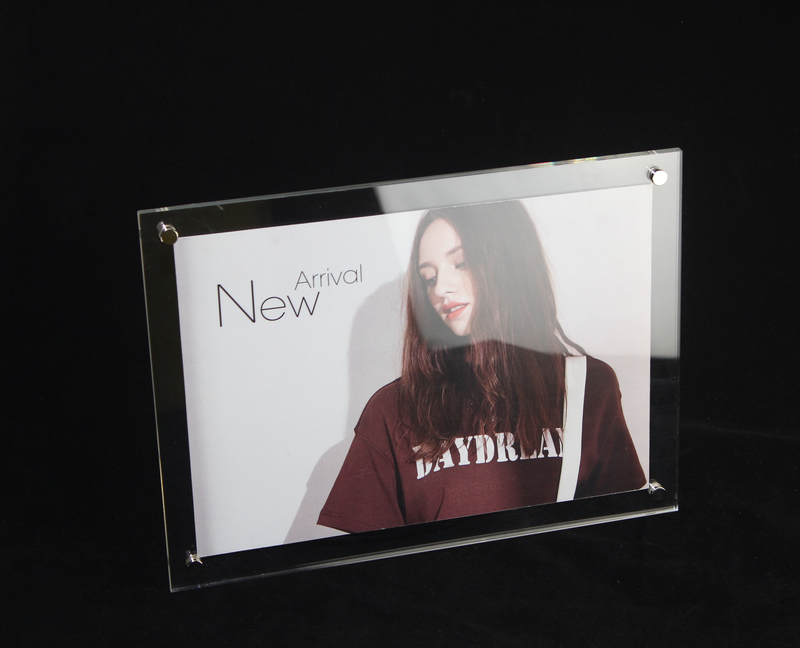 Online-Shop A5 Wand Montiert Klaren Acryl Foto Rahmen Zertifikat ...