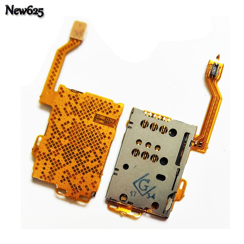 5 Pcs/Lot, Original New SIM Card Reader Holder Connector Slot Flex Cable For Nokia C7-00 C7 Mobile Phone Cable Replacement